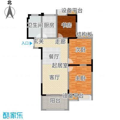 观湖壹号B1-112-2户型