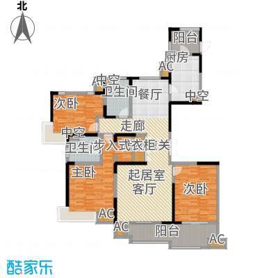 中星湖滨城四期N1_165户型