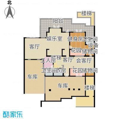 沈阳国王湖543.00㎡公爵级户型 地下一层户型