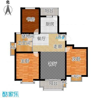 海正香醍湾119.00㎡3室2厅1卫