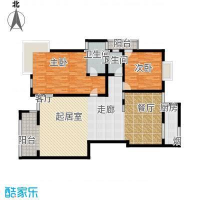 南阳长安玉龙苑179.00㎡三室二厅户型3室2厅2卫