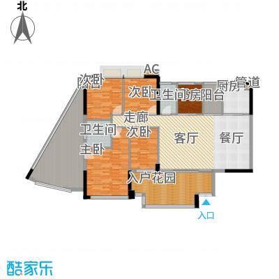 帝�东方169.00㎡【御峰】传承世家户型5室2厅2卫
