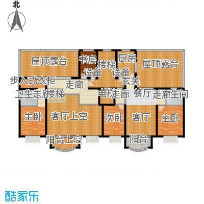 亚太国际公馆H单元7层户型