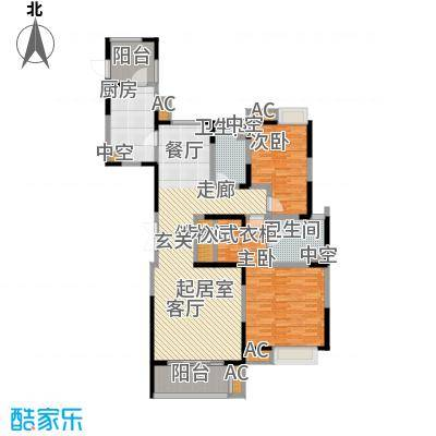 中星湖滨城四期L2_138户型