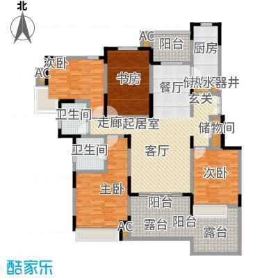 中星湖滨城四期F1_152户型CC