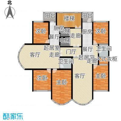 金榜苑户型5室2卫