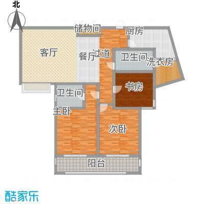 上海公馆176.62㎡5#D3户型4室2厅2卫