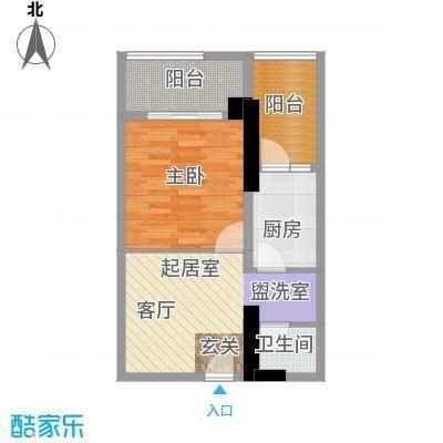 湘运大厦・曼哈顿舒适格局方正合理动静分区干湿分离户型1室1卫1厨