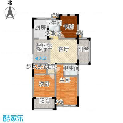 嘉城南都苑131.00㎡G-1-1/G-4-1户型3室2厅2卫