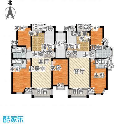 金港河滨华城107-126户型