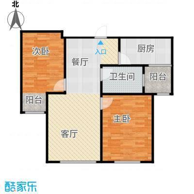 欣美御河九号70.41㎡E-户型10室