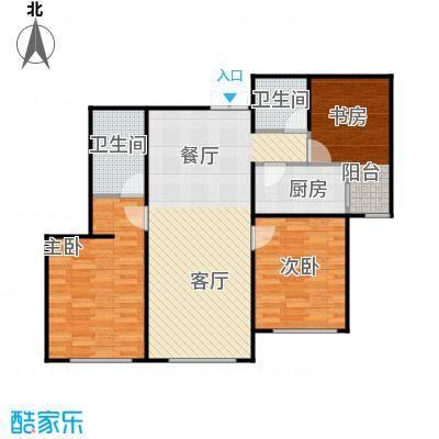 欣美御河九号85.85㎡H-户型10室