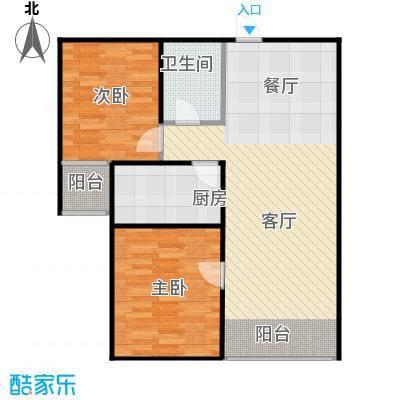 欣美御河九号75.52㎡B-户型10室
