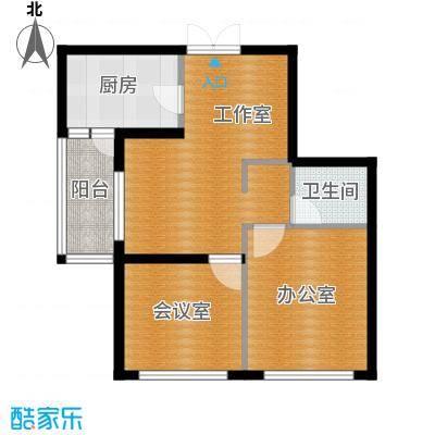 高铁时代广场61.00㎡户型10室