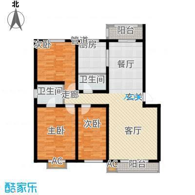 馨合佳园136.00㎡3室2厅2卫