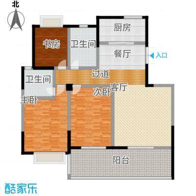 凤凰城4房2厅-176.51平米户型