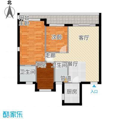 双大・山湖湾C户型3室2厅2卫