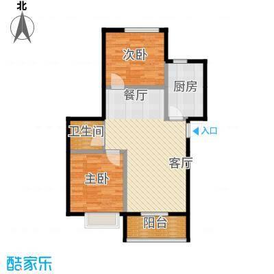 富东景苑67.91㎡户型3室2厅1卫