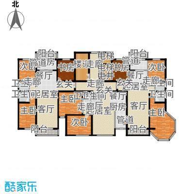 颐林园139.37㎡6#户型