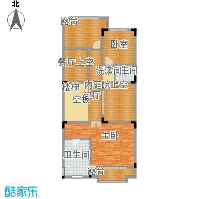 五矿哈施塔特72.26㎡联排别墅TU2三层户型10室