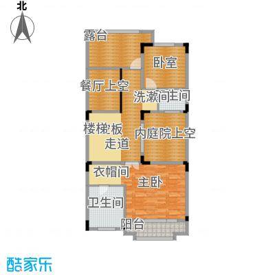 五矿哈施塔特72.15㎡联排别墅TD2二层户型10室