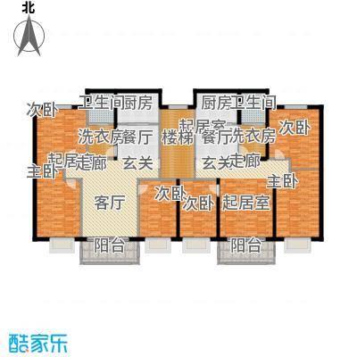 阳光佳园112.00㎡三室一厅户型3室2厅1卫