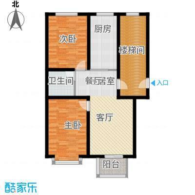 温阳海港城91.42㎡B1户型3室2厅1卫