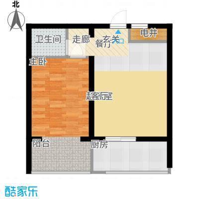 富民家苑52.03㎡1室1厅1卫