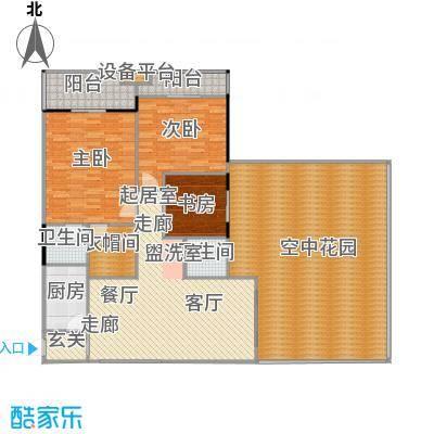 中和龙沐湾・海润源126.63㎡C2户型3室2厅2卫