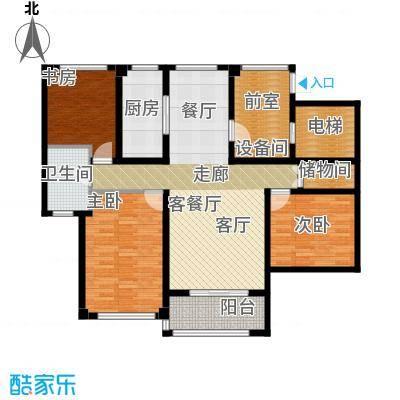苏州望湖公寓112.00㎡D1户型4室2厅1卫
