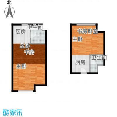 世贸天街65.59㎡户型10室