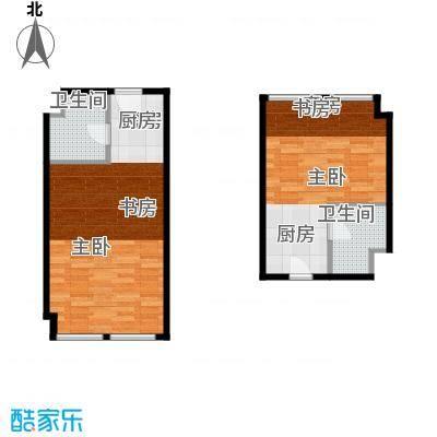 世贸天街65.62㎡户型10室
