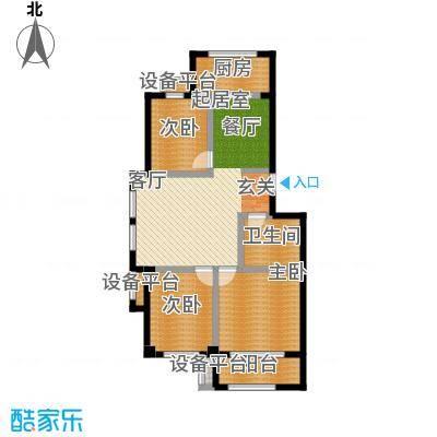 春霖未来城91.00㎡二期多层户型3室2厅1卫
