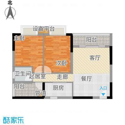 橡墅84.15㎡2栋1单元偶数层01―05户型2室2厅1卫1厨户型2室2厅1卫