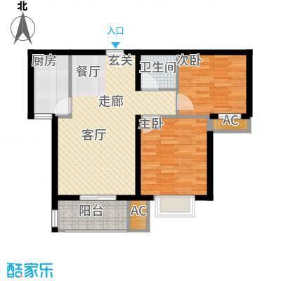 新华里188号户型图户型2室2厅1卫