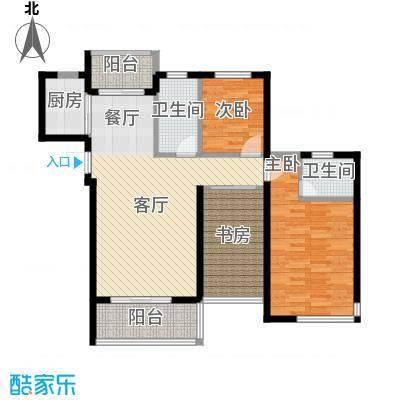 锦绣嘉园99.52㎡三期户型10室