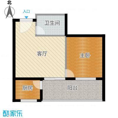 锦绣嘉园44.00㎡三期户型10室