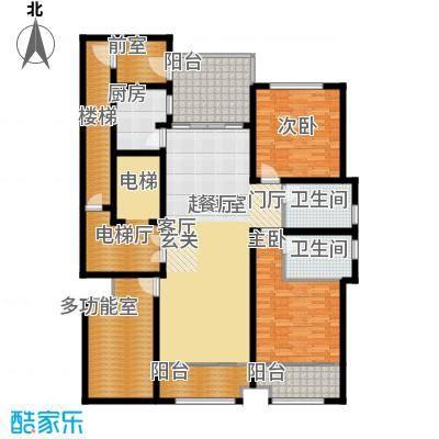 海鑫花园168.00㎡B户型2室2厅2卫