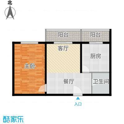创业公寓二期70.35㎡1室1厅1卫