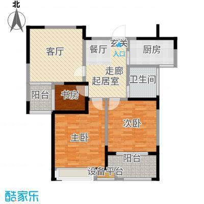 观湖壹号B2-9449-2户型