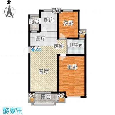 海正香醍湾94.00㎡2室2厅1卫