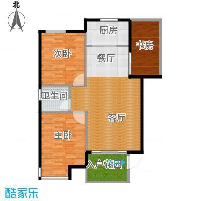 锦绣嘉园89.20㎡三期户型10室