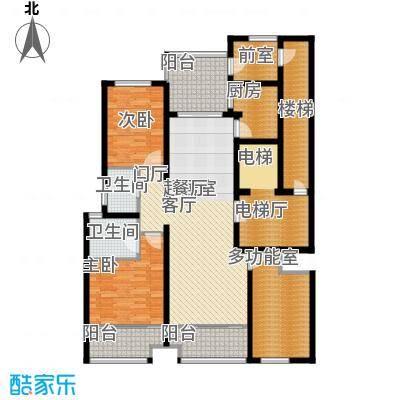 海鑫花园147.00㎡A户型2室2厅2卫
