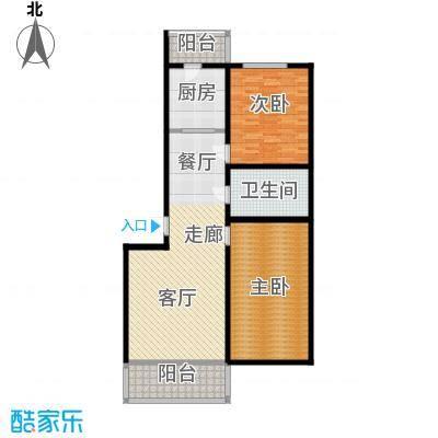 畅心园108.22㎡畅心园9号楼 户型 面积108.22平方米户型2室1厅1卫