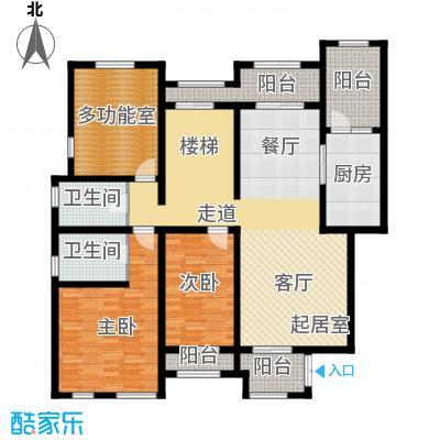 长九中心公园9号151.16㎡A5-1户型10室
