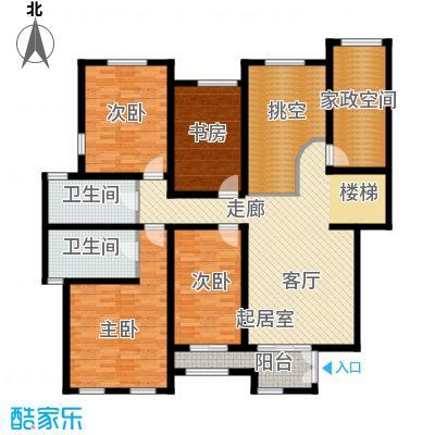 长九中心公园9号154.27㎡A-3--2层户型10室