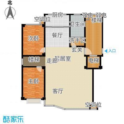 凤鸣郡304.00㎡G户型三层 5室3厅3卫1厨户型5室3厅3卫