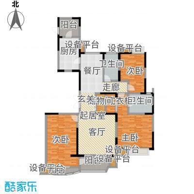 中星湖滨城四期O2_167户型CC