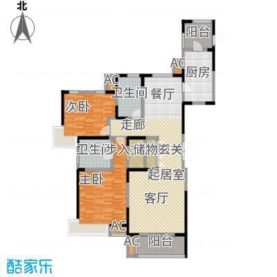 中星湖滨城四期L1_140户型