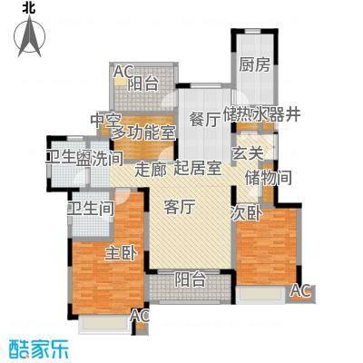 中星湖滨城四期I127户型